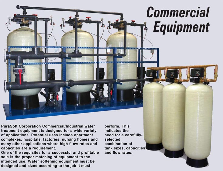 PuraSoft Corporation Commercial/Industrial Water Treatment Equipment Is  Designed For A Variety Of Applications. Potential Uses Include Apartment  Complexes, ...